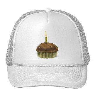Mollete del feliz cumpleaños gorras