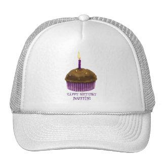 Mollete del feliz cumpleaños gorra