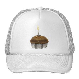 Mollete del feliz cumpleaños gorros