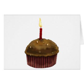 Mollete del feliz cumpleaños tarjeta de felicitación