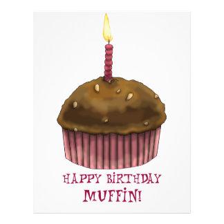 Mollete del feliz cumpleaños tarjetones