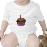 Mollete del feliz cumpleaños traje de bebé