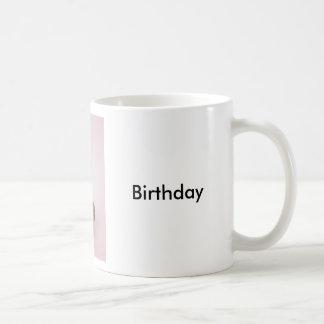 Mollete del feliz cumpleaños y taza #1 de la vela