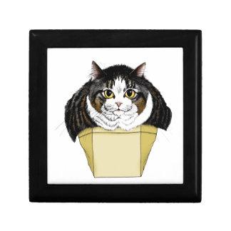 Mollete Top Cat Joyero Cuadrado Pequeño