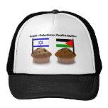 Molletes del conflicto palestino-israelí gorras