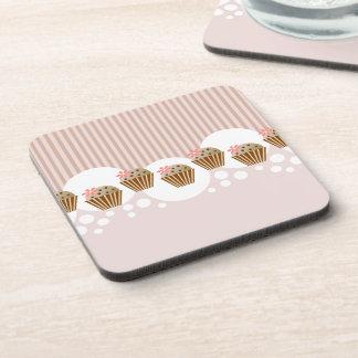 Molletes lindos del microprocesador de chocolate posavasos