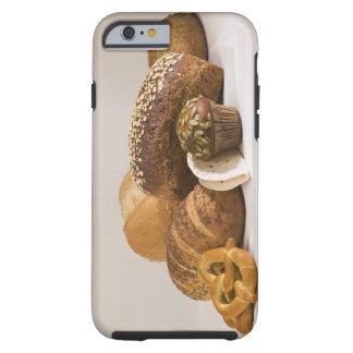 Molletes y rollos de la cena funda para iPhone 6 tough