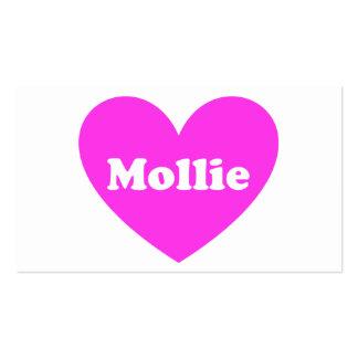 Mollie Plantillas De Tarjetas De Visita
