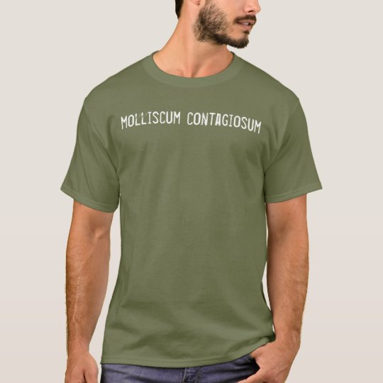 """""""molliscum contagiosum"""" tee shirt"""