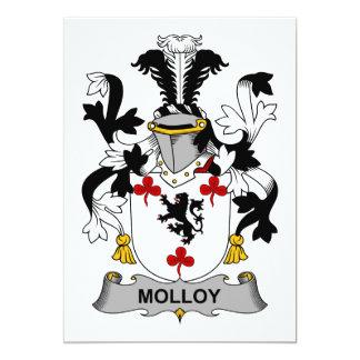 Molloy Family Crest 5x7 Paper Invitation Card