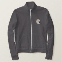 Mollucan Cockatoo Embroidered Jacket