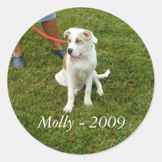 Molly - 2009 - STICKER
