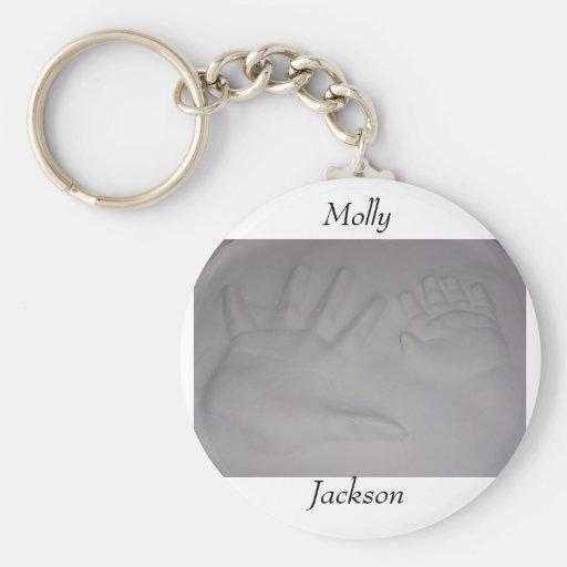 Molly and Jackson Keychain