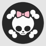 Molly Bow Classic Round Sticker