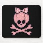 Molly Bow Dot Mouse Pad