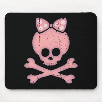 Molly Bow Dot Mouse Pad