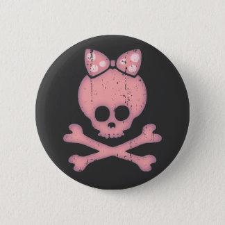 Molly Bow Dot Pinback Button