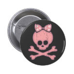 Molly Bow Dot Pinback Buttons
