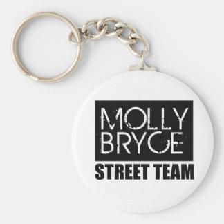 Molly Bryce Street Team Keychain