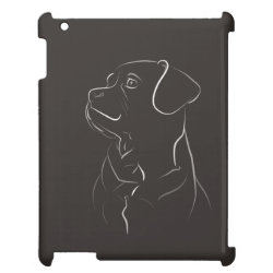 Case Savvy Glossy Finish iPad Case with Beagle Phone Cases design