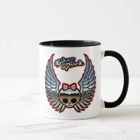 Molly Chrome Bike Mug