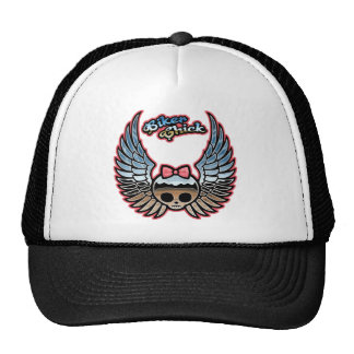 Molly Chrome Bike Trucker Hat