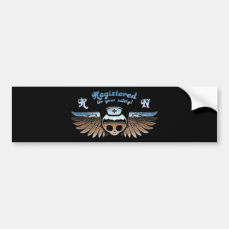 Molly Chrome RN -217 Bumper Sticker