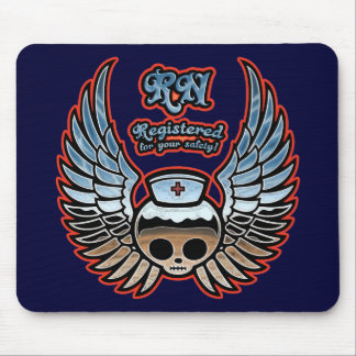 Molly Chrome, RN Mouse Pad