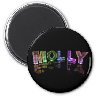 Molly conocido en 3D se enciende (la fotografía) Iman De Frigorífico