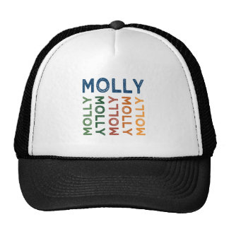 Molly Cute Colorful Trucker Hat