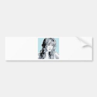 Molly Cyrus Hot Chick Car Bumper Sticker