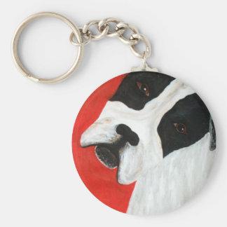 Molly Dog Keychain