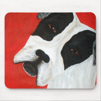 molly dog mouse pad