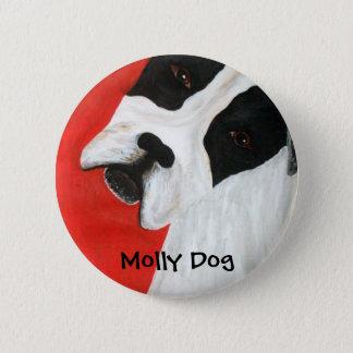 Molly Dog Pinback Button
