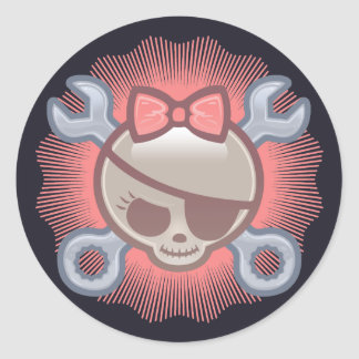 Molly Goodwrench Classic Round Sticker