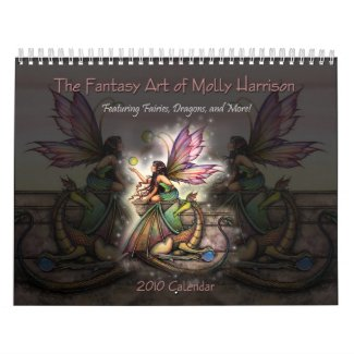 Molly Harrison 2010 Fantasy Art Calendar calendar
