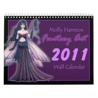 Molly Harrison 2011 Fantasy Art Calendar