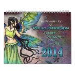 Molly Harrison 2014 de hadas y calendario del arte