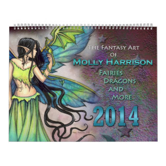 Molly Harrison 2014 Fairy and Fantasy Art Calendar