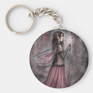 """molly harrison illustrations"" basic round button keychain"