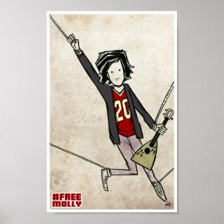 Molly libre póster