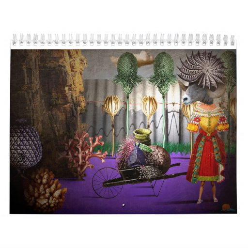 Molly loved her prize garden2 calendar
