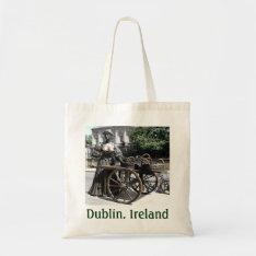 Molly Malone And Wheelbarrow Ireland Bag at Zazzle