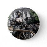Molly Malone and Wheelbarrow Ireland Button