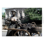 Molly Malone And Wheelbarrow Ireland Card at Zazzle