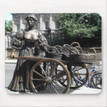 Molly Malone And Wheelbarrow Ireland Mousepad at Zazzle