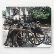 Molly Malone And Wheelbarrow Ireland Mousepad at Zazzle