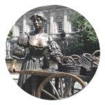 Molly Malone and Wheelbarrow Ireland Sticker