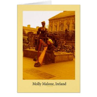 Molly Malone, Dublin Card