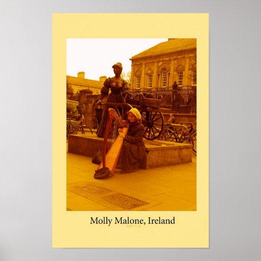 Molly Malone, Irlanda Póster